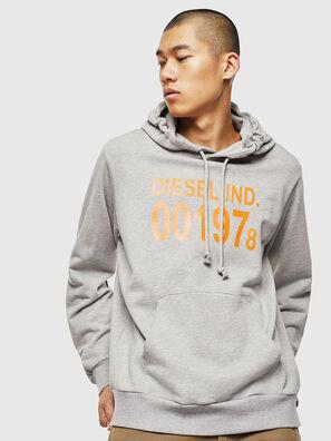 S-GIRK-HOOD, Grau - Sweatshirts