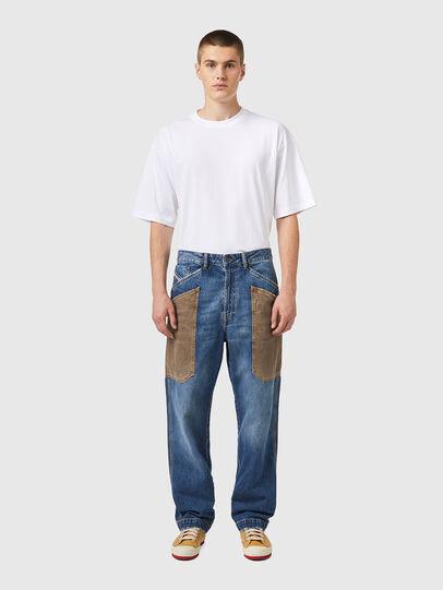 Diesel - D-Franky 0GCAY, Mittelblau - Jeans - Image 6