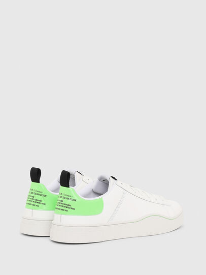 Diesel - S-CLEVER LOW LACE, Weiß/Grün - Sneakers - Image 3