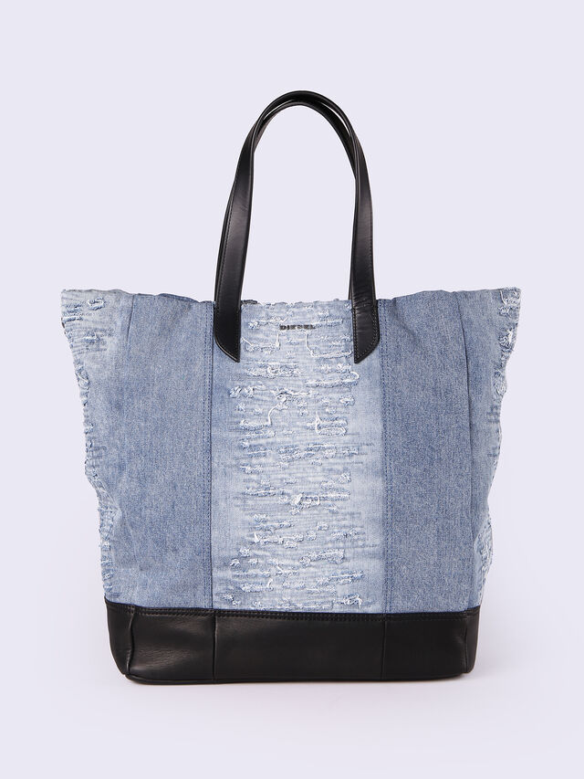 M-MOHICANEYE TOTE, Jeansblau