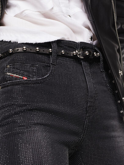 Diesel - D-Ollies JoggJeans 0093H, Schwarz/Dunkelgrau - Jeans - Image 3