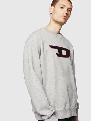 S-CREW-DIVISION-D, Hellgrau - Sweatshirts