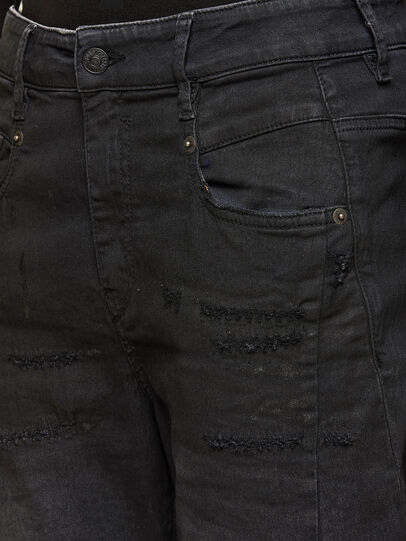 Diesel - FAYZA JoggJeans® 069QL, Schwarz/Dunkelgrau - Jeans - Image 3