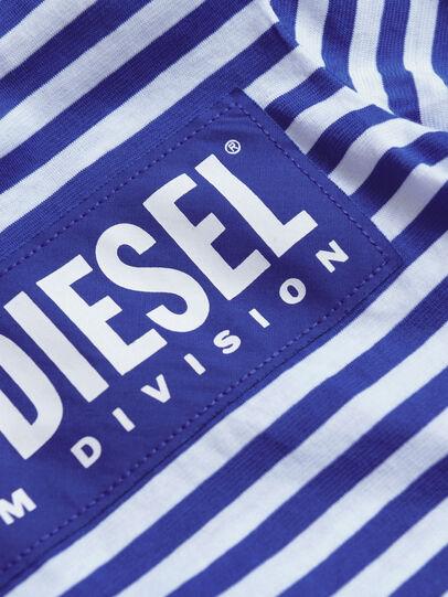 Diesel - TVIKB, Blau/Weiß - T-Shirts und Tops - Image 3