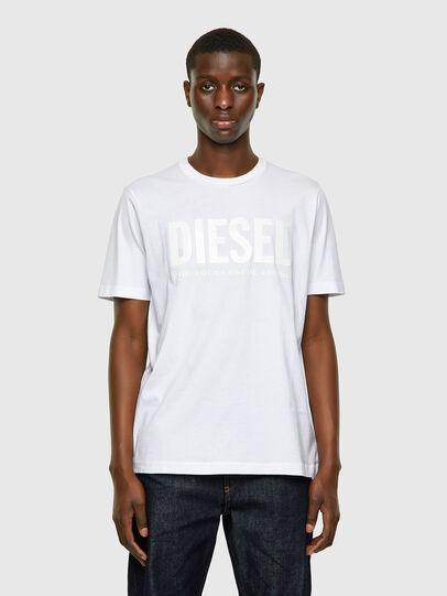 Diesel - T-JUST-INLOGO, Weiß - T-Shirts - Image 1