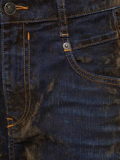 Diesel - Fayza 069RQ, Blau/Gelb - Jeans - Image 4