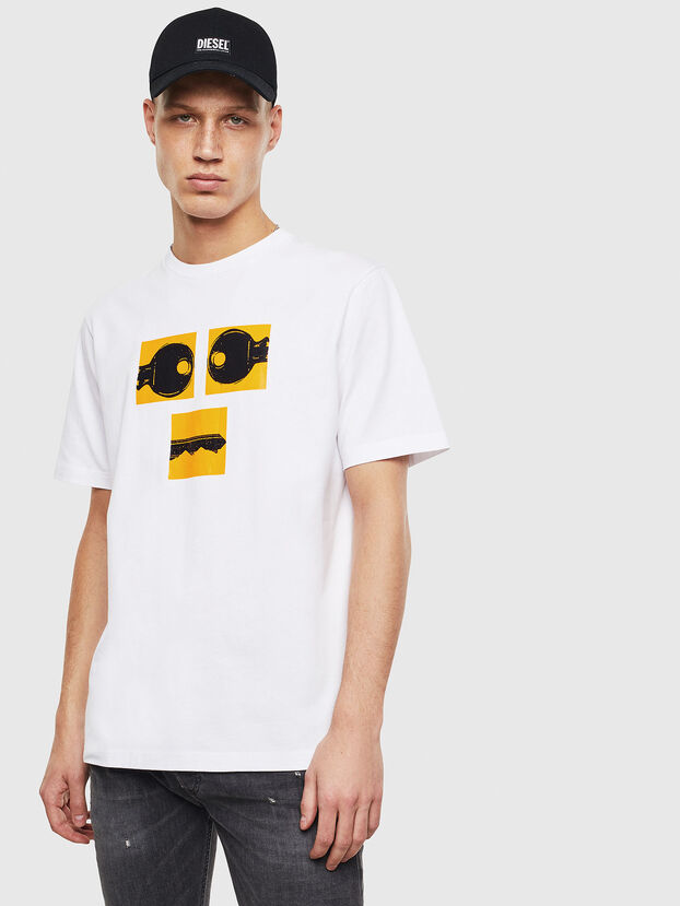 T-JUST-T23, Weiß - T-Shirts