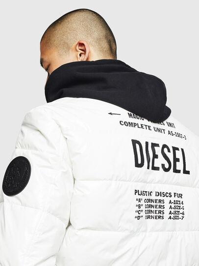 Diesel - W-ON, Weiß - Winterjacken - Image 5