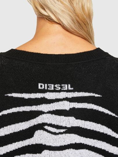 Diesel - M-CRYSTAL, Schwarz - Strickwaren - Image 3