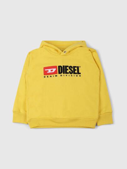 Diesel - SDIVISION OVER, Gelb - Sweatshirts - Image 1