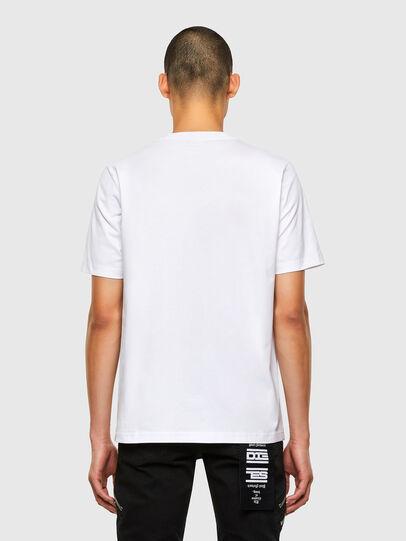 Diesel - T-JUST-N45, Weiß - T-Shirts - Image 2