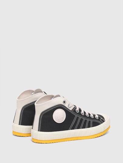 Diesel - S-YUK MC W, Schwarz/Gelb - Sneakers - Image 3