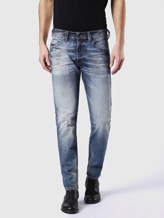 Diesel - Thommer 084DD, Mittelblau - Jeans - Image 2