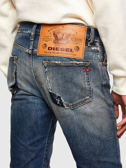 Diesel - D-Strukt 009TX, Dunkelblau - Jeans - Image 5
