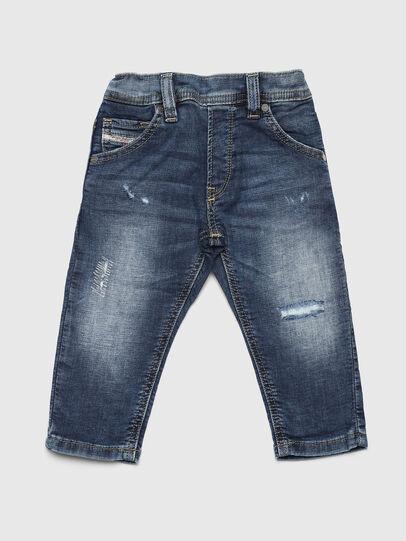 Diesel - KROOLEY JOGGJEANS-B-N, Mittelblau - Jeans - Image 1