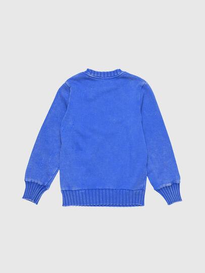 Diesel - SBAYZJ, Brillantblau - Sweatshirts - Image 2