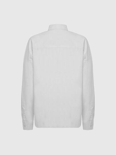 Diesel - S-LOOMY-A, Weiß - Hemden - Image 2