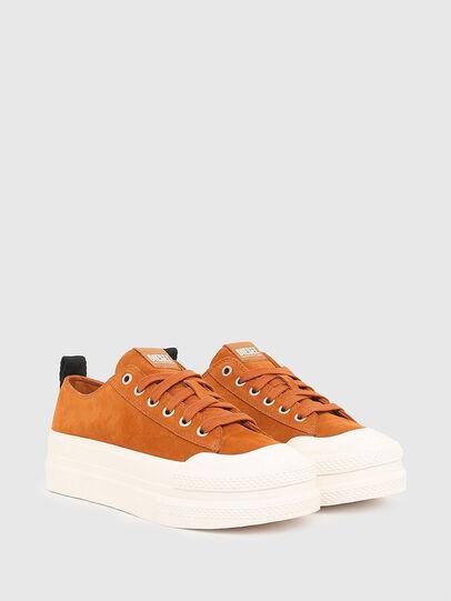 Diesel - S-JOMUA LC, Orange - Sneakers - Image 2