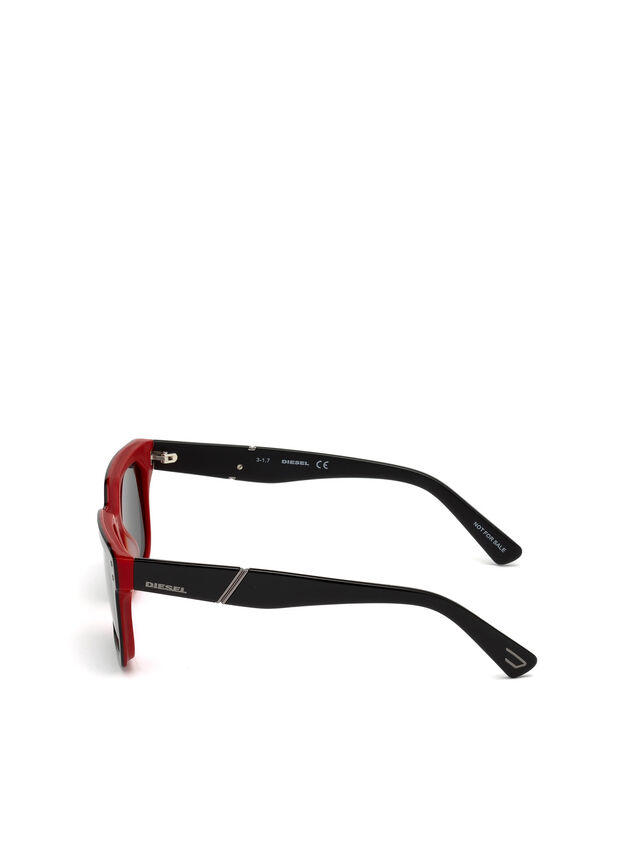DL0253, Black/poppy red