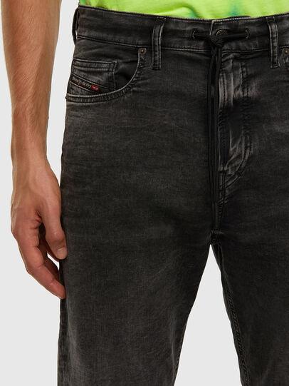 Diesel - D-Vider JoggJeans 009FZ, Schwarz/Dunkelgrau - Jeans - Image 3