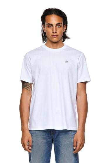 T-Shirt Green Label mit Mohikaner-Aufnäher