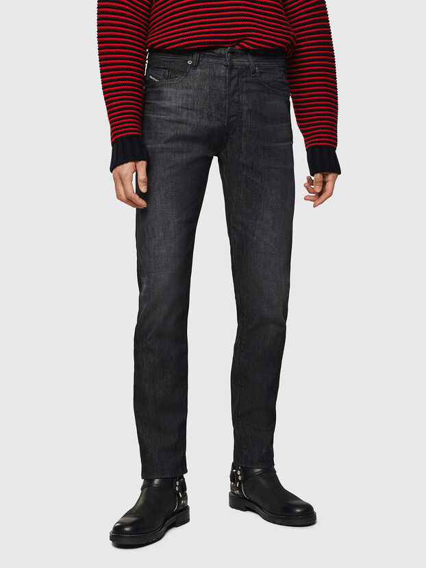 Buster 082AT, Schwarz/Dunkelgrau - Jeans