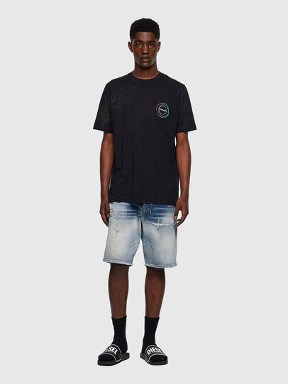Diesel - T-JUST-E3, Schwarz - T-Shirts - Image 4