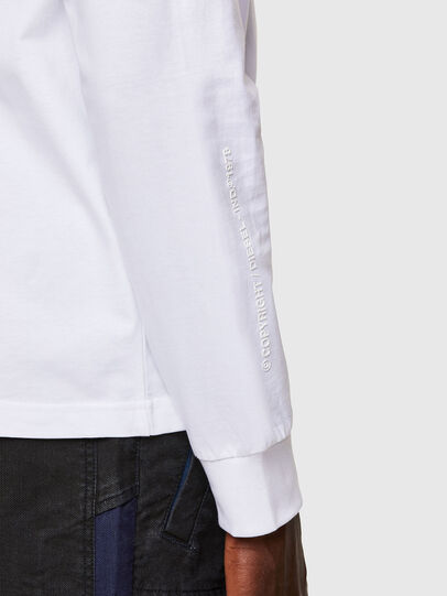 Diesel - T-JUST-LS-A30, Weiß - T-Shirts - Image 4
