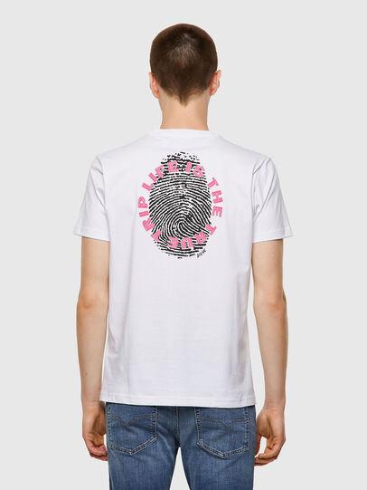 Diesel - T-DIEGOS-B7, Weiß - T-Shirts - Image 2