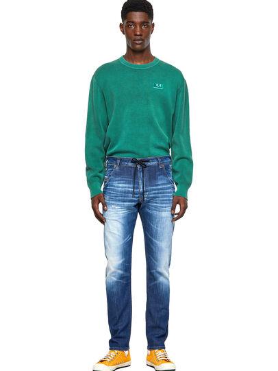 Diesel - Krooley JoggJeans® 09B52, Mittelblau - Jeans - Image 5