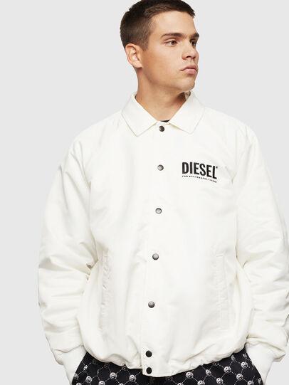 Diesel - J-AKIO-A, Weiß - Jacken - Image 1