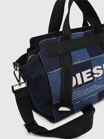Diesel - F-CAORLY SATCHEL M, Blau - Satchel Bags und Handtaschen - Image 5