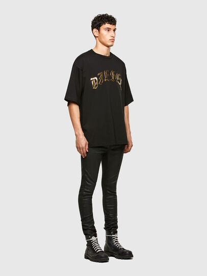 Diesel - T-BALL-A1, Schwarz - T-Shirts - Image 4