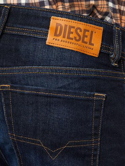 Diesel - Sleenker 009EY, Dunkelblau - Jeans - Image 4