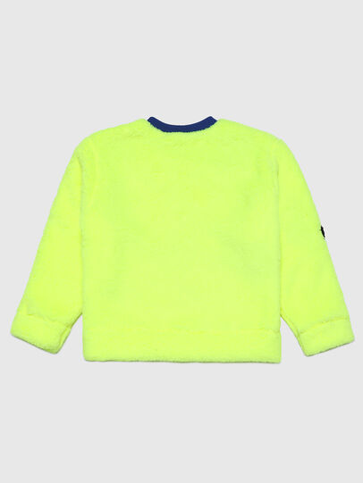Diesel - SOLBY OVER, Neongelb - Sweatshirts - Image 2