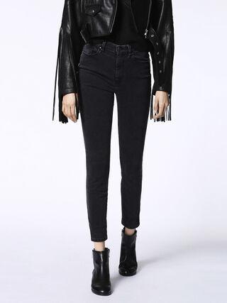 SKINZEE-HIGH 0680I, Black Jeans