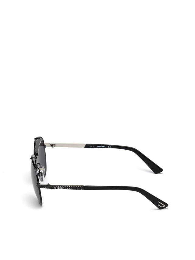 Diesel - DL0238, Schwarz - Sonnenbrille - Image 3
