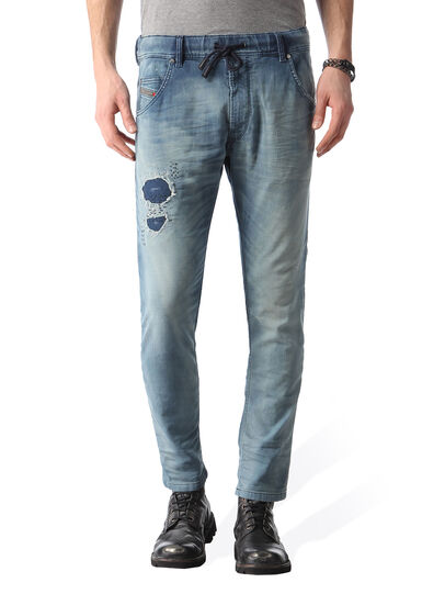 Diesel - Krooley JoggJeans 0672F,  - Jeans - Image 1