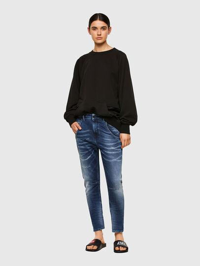 Diesel - Fayza JoggJeans® 0096M, Dunkelblau - Jeans - Image 5