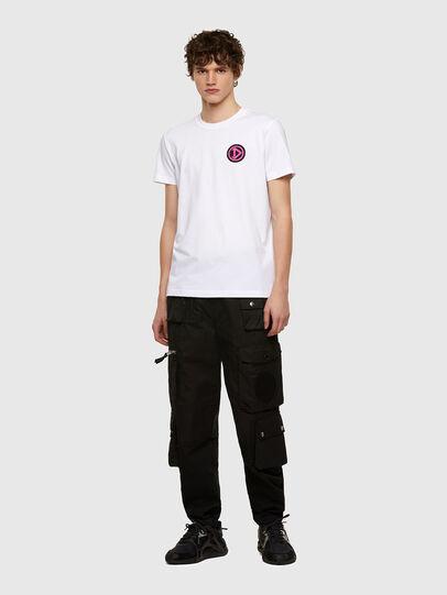 Diesel - T-DIEBIND-E1, Weiß - T-Shirts - Image 4