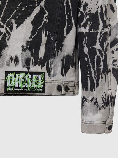Diesel - NHILL-SP3, Schwarz/Weiss - Denim jacken - Image 5