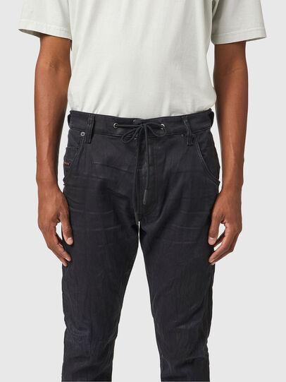 Diesel - Krooley JoggJeans® 069WB, Schwarz/Dunkelgrau - Jeans - Image 3