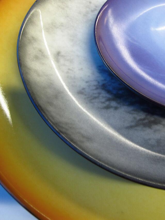 Living 10822 COSMIC DINER, Blau - Teller - Image 2
