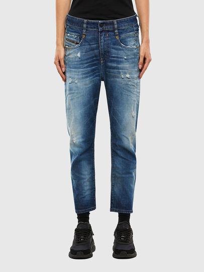 Diesel - Fayza 009LF, Mittelblau - Jeans - Image 1