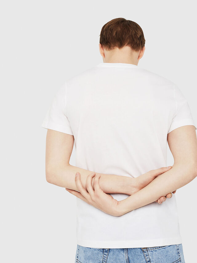 Diesel - T-DIEGO-C4, Weiß - T-Shirts - Image 2