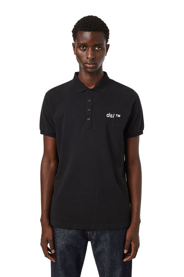 Polo-Shirt mit gesticktem Logo