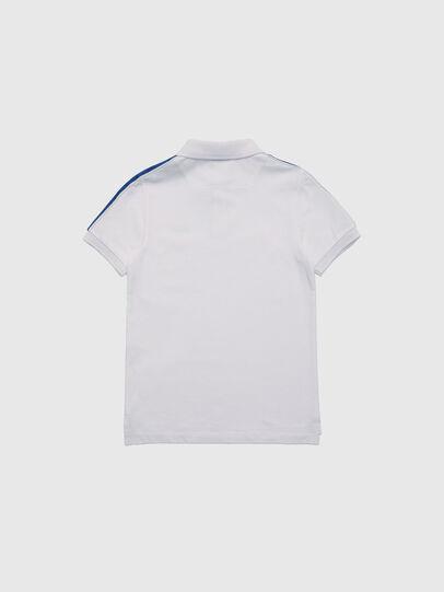 Diesel - TRALFYS1, Weiss/Blau - T-Shirts und Tops - Image 2