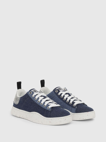 Diesel - S-CLEVER LOW LACE W, Blau - Sneakers - Image 2