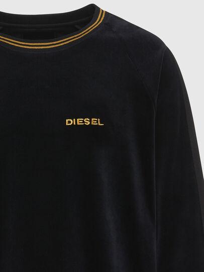 Diesel - UMLT-MAX, Schwarz - Sweatshirts - Image 3