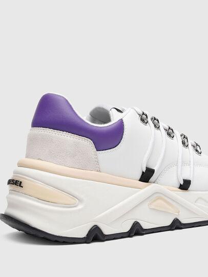 Diesel - S-HERBY TREK EVO, Weiss/Violett - Sneakers - Image 5